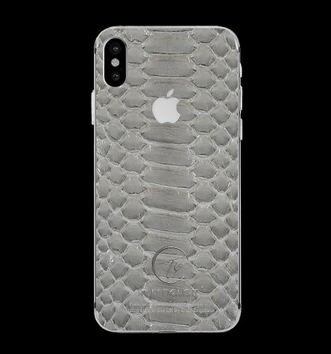 Platinum Grey Python Edition iPhone X