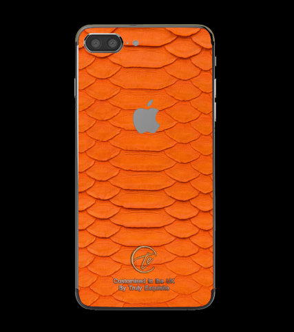 Platinum Orange Python Edition iPhone 7 Plus