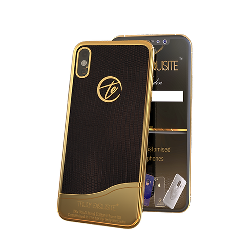 Luxury Plated Lizard Edition iPhone XS & XS Max