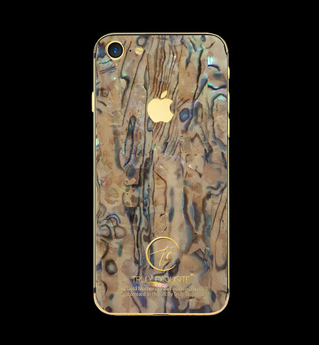 24K Gold Mother of Pearl iPhone 8
