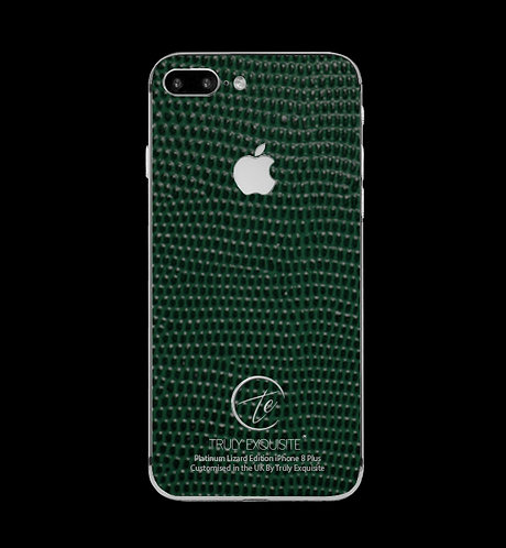 Platinum Green Lizard Edition iPhone 8 Plus