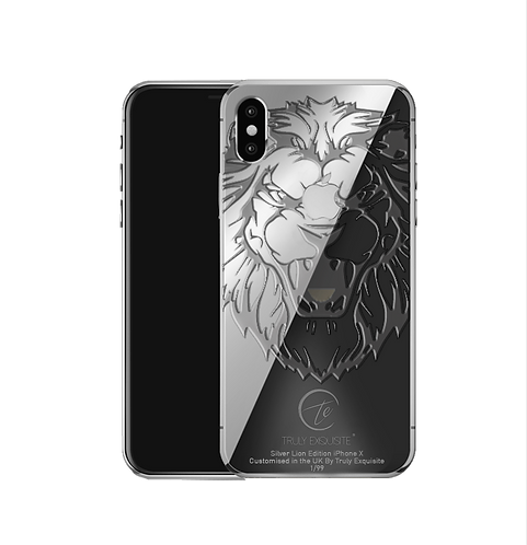 Silver Lion Limited Edition iPhone X