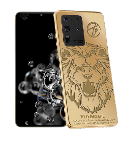 Luxury Plated Lion Edition Samsung Galaxy S20 / S20+ / S20 Ultra (5G)