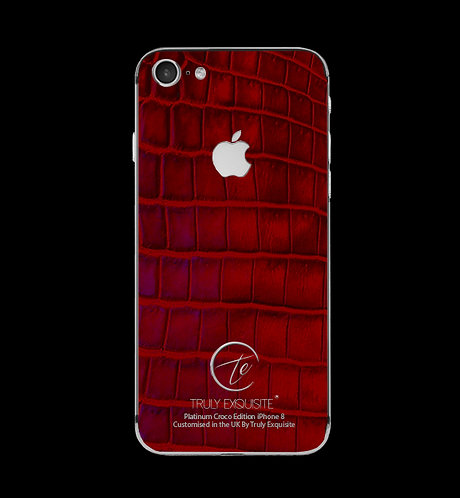 Platinum Red Croco Edition iPhone 8