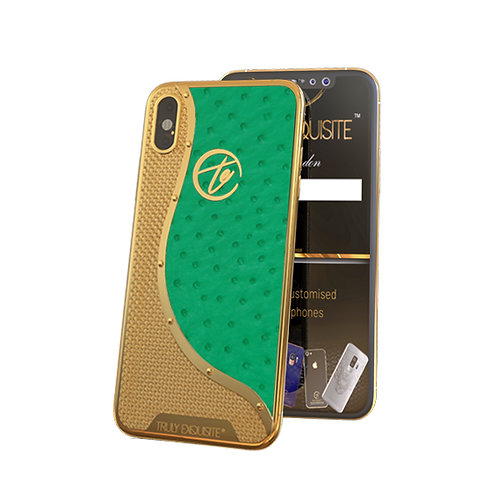 Luxury Plated Ostrich Edition iPhone XS & XS Max