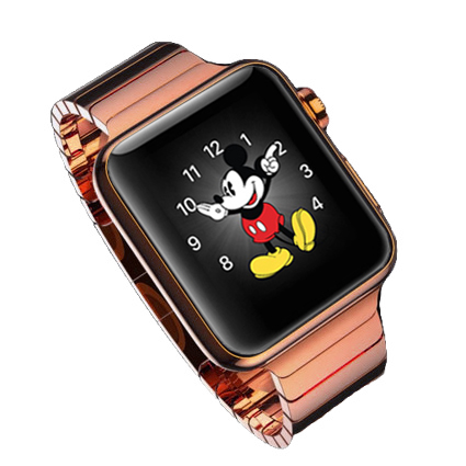 18K Rose Gold Plated Apple Watch Series 5