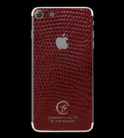 Platinum Red Lizard Edition iPhone 7