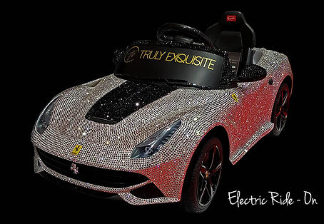 Swarovski Ferrari Ride On car