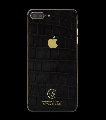 24K Gold Black Croco Edition iPhone 7 Plus