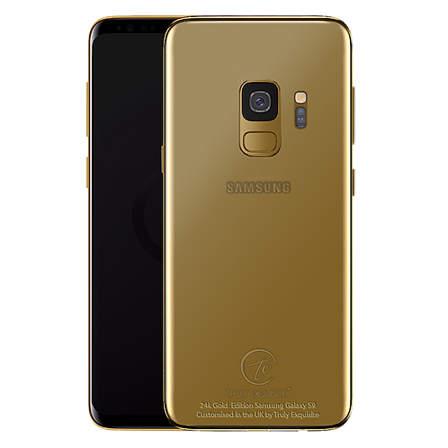 24K Gold Plated Samsung Galaxy S9