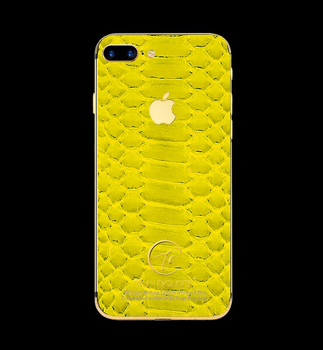 24K Gold Yellow Python Edition iPhone 8 Plus