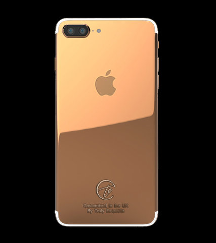 18K Rose Gold Plated iPhone 7 Plus