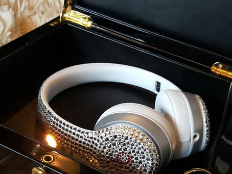 Swarovski Beats By Dre Headphones Donated to Charity