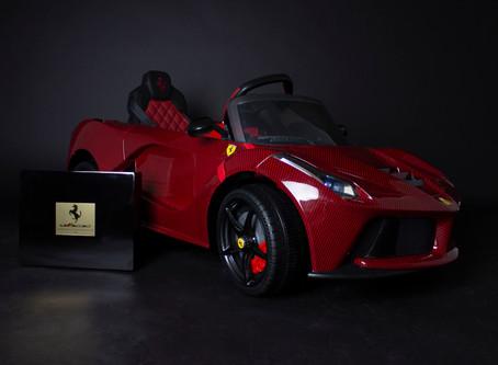 Custom Made La Ferrari Electric Ride On Car For Kids