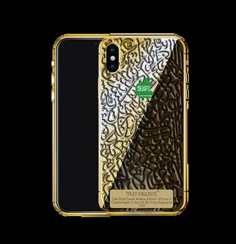 Luxury Limited Edition Saudi Arabia Calligraffiti iPhone X