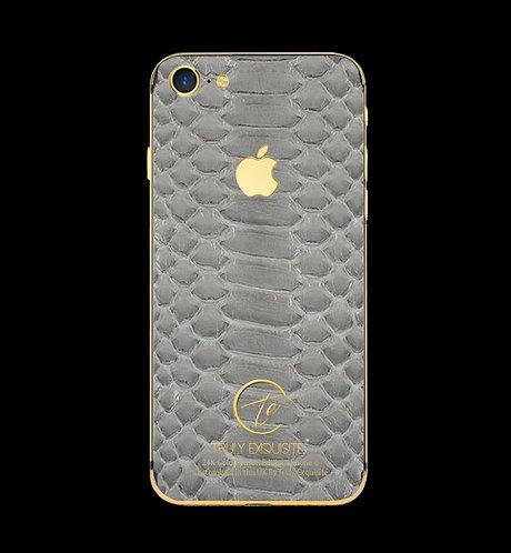 24K Gold Grey Python Edition iPhone 8