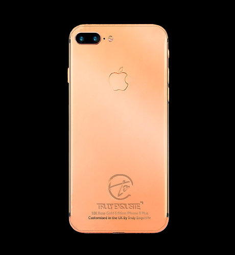 18K Rose Gold Plated iPhone 8 Plus