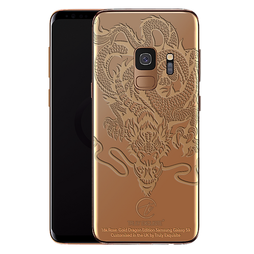 18K Rose Gold Dragon Limited Edition Samsung S9