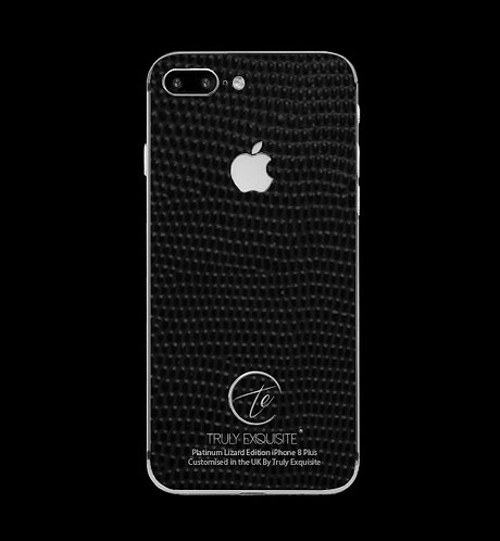 Platinum Black Lizard Edition iPhone 8 Plus