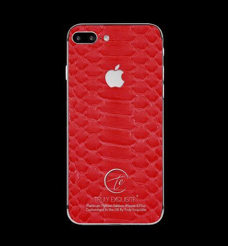 Platinum Red Python Edition iPhone 8 Plus