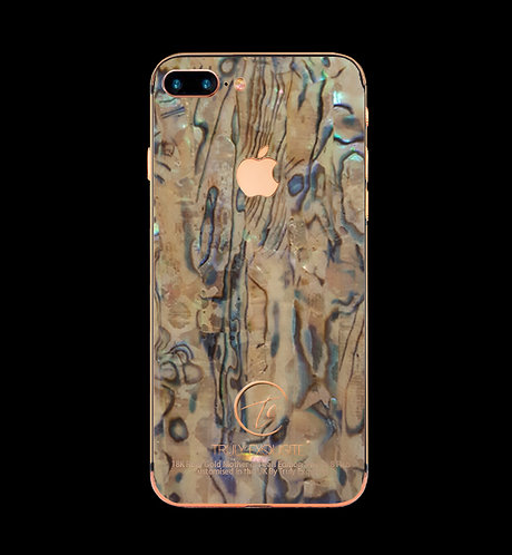 18K Rose Gold Mother Of Pearl iPhone 8 Plus