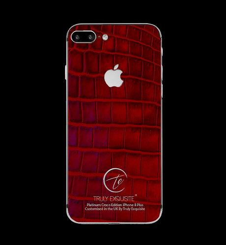 Platinum Red Croco Edition iPhone 8 Plus
