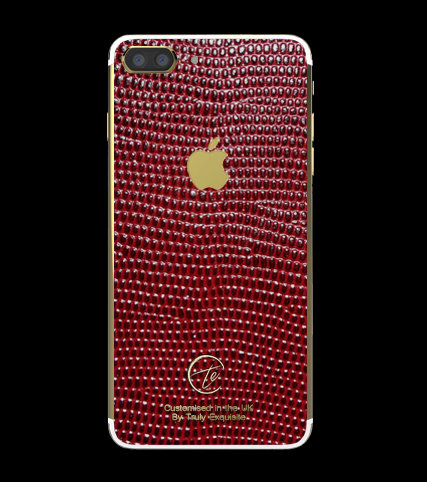 24K Gold Red Lizard Edition iPhone 7 Plus