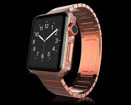 18K Rose Gold Plated Swarovski Legend Apple Watch