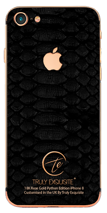 18K Rose Gold iPhone 8