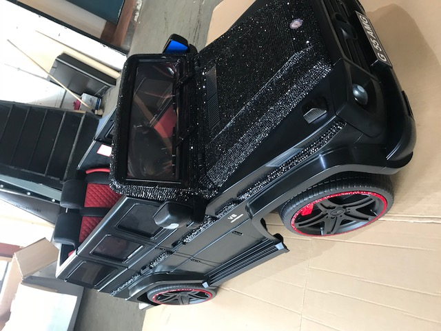 electric ride on car customized