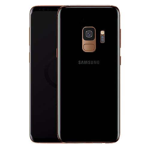 18K Rose Gold Plated Frame Samsung Galaxy S9