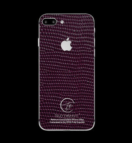 Platinum Purple Lizard Edition iPhone 8 Plus