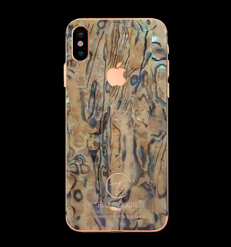 18K Rose Gold Mother of Pearl Plated iPhone X