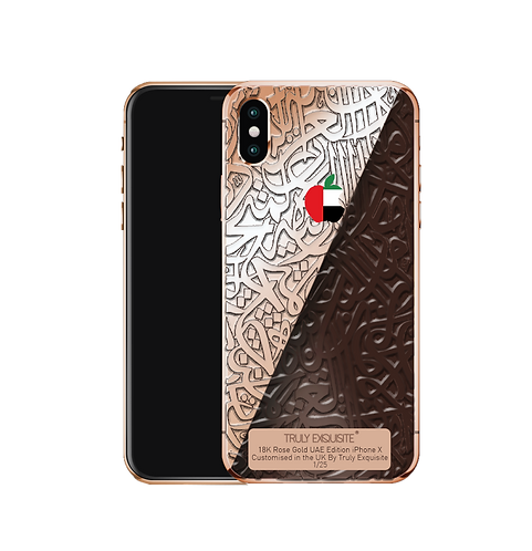 Luxury Limited Edition UAE Calligraffiti iPhone X