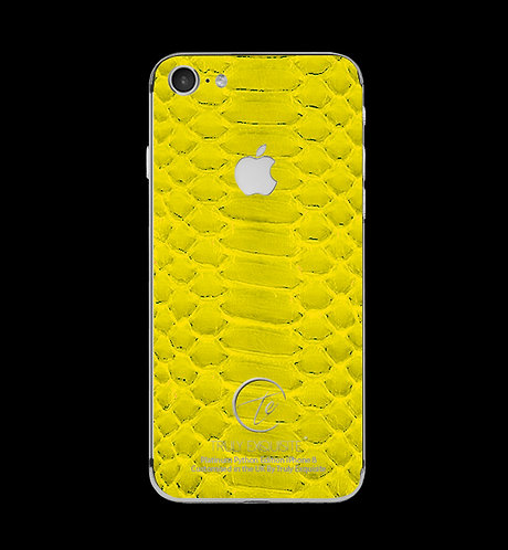 Platinum Yellow Python Edition iPhone 8