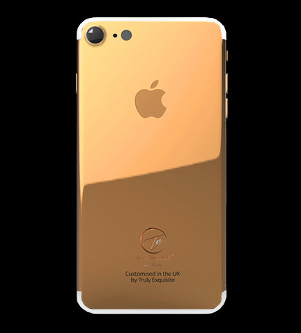 18K Rose Gold Plated iPhone 7