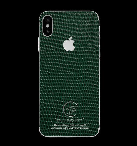 Platinum Green Lizard Edition iPhone X
