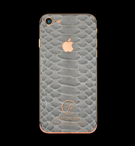 18K Rose Gold Grey Python Edition iPhone 8