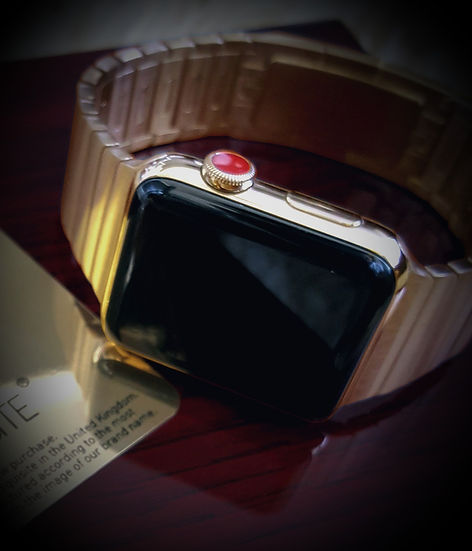 24K Gold Apple Watch 5