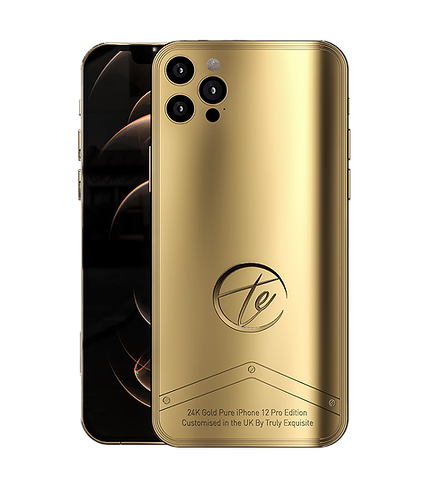 Luxury Plated Pure Edition iPhone 12 Pro & Pro Max