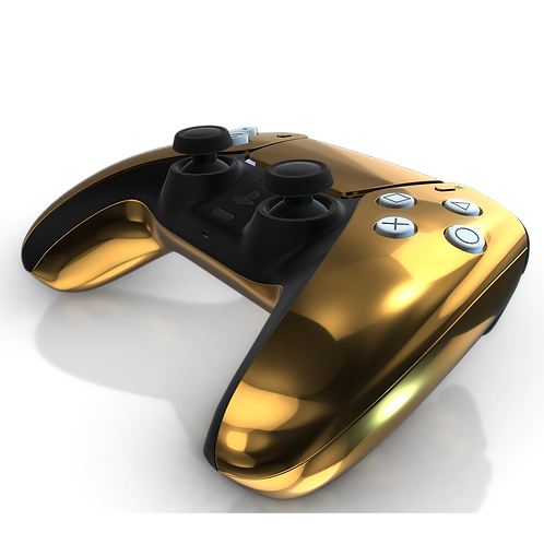 Luxury Customised Plated Playstation 5 Dualsense Controller (Pre Order)