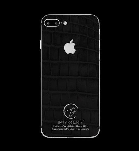 Platinum Black Croco Edition iPhone 8 Plus