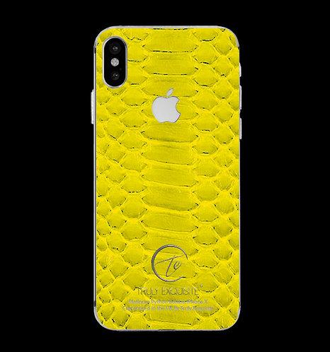 Platinum Yellow Python Edition iPhone X