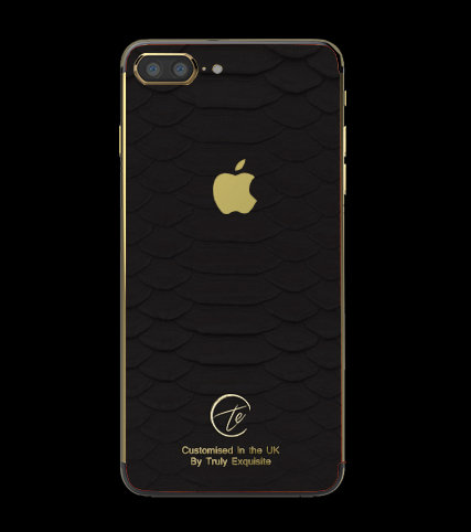 24K Gold Black Python Edition iPhone 7 Plus