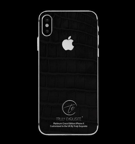 Platinum Black Croco Edition iPhone X