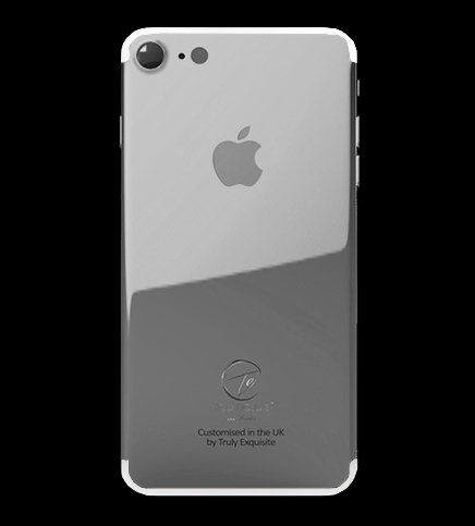 Platinum Plated iPhone 7