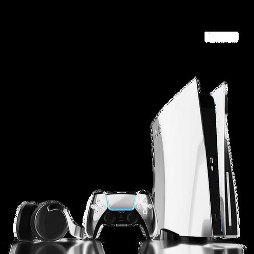 Luxury Customised Limited Edition Platinum PS5
