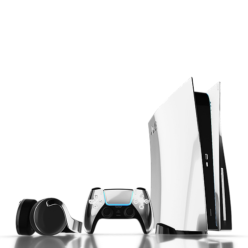 Luxury Customised Limited Edition Platinum PS5 (PRE ORDER DEPOSIT)