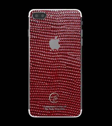 Platinum Red Lizard Edition iPhone 7 Plus