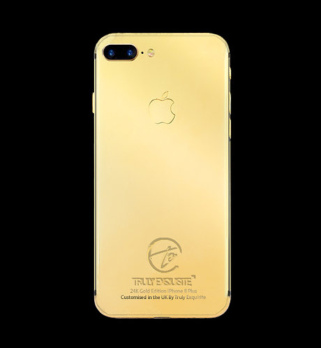 24K Gold Plated iPhone 8 Plus